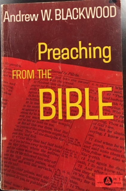 Image for Preaching from the Bible