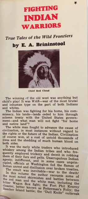 Image for Fighting Indian Warriors: True Tales of The Wild Frontiers