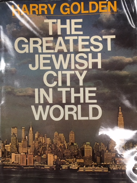 Image for The Greatest Jewish City in the World