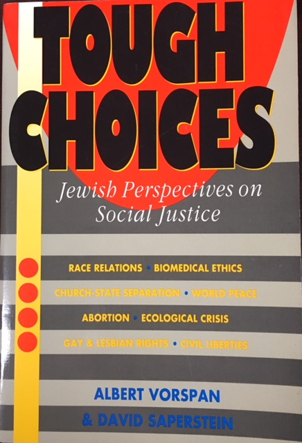 Image for Tough Choices : Jewish Perspectives on Social Justice