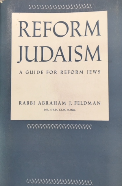 Image for Reform Judaism: A Guide for Reform Jews