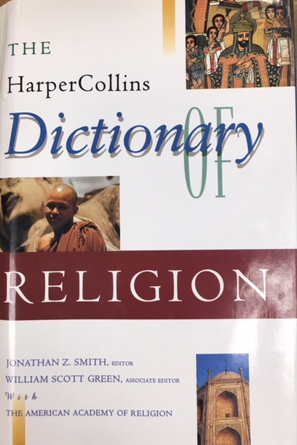 Image for The HarperCollins Dictionary of Religion