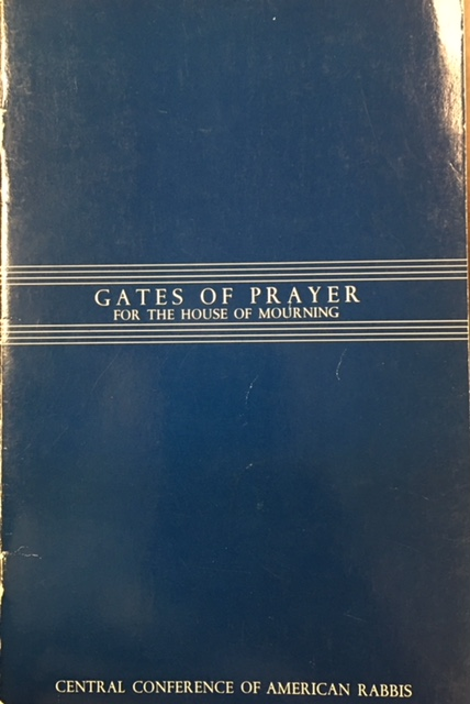 Image for Gates of Prayer: The New Union Prayerbook (Afternoon and Evening Services and Prayers for the House of Morning)