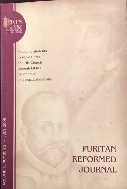 Image for Puritan Reformed Journal (Volume 1, Number 2 - July 2009)