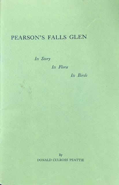Image for Pearson's Falls Glen: Its Story, Its Flora, Its Birds (Revised Edition)