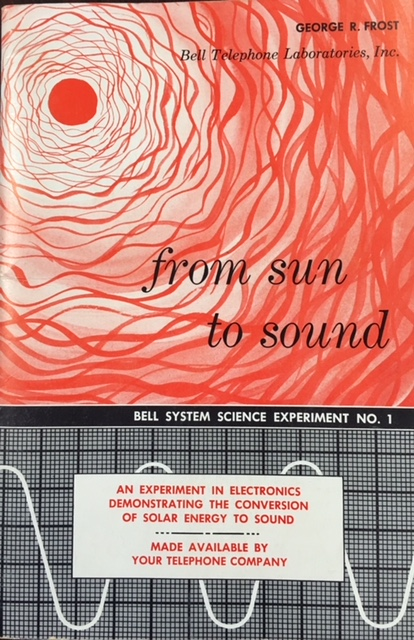 Image for From Sun to Sound (Bell System Science Experiment No.1)