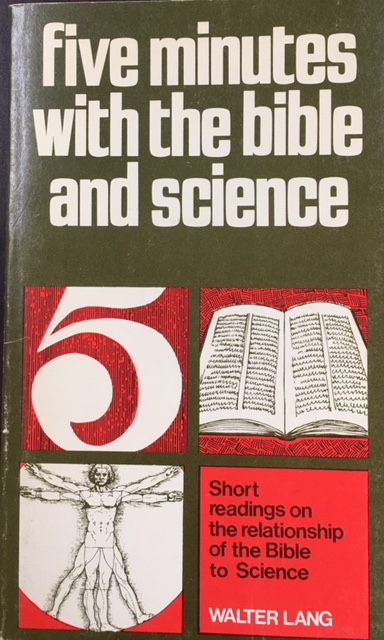 Image for Five Minutes with the Bible and Science