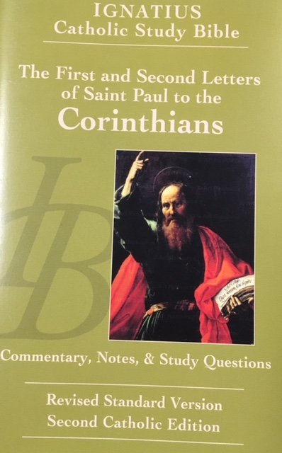 Image for The First and Second Letters of Saint Paul To The Corinthians (Ignatius Catholic Study Bible)