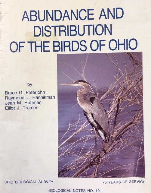 Image for Abundance and Distribution of the Birds of Ohio (Ohio Biological Survey - Biological Notes No 19)