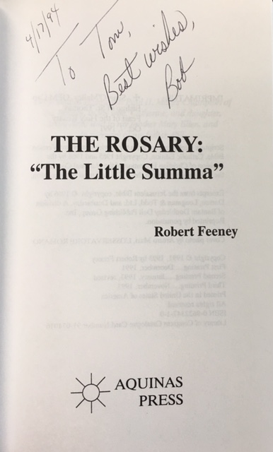 Image for The Rosary: 'The Little Summa' (Reflections from: Sacred Scripture / St. Thomas Aquinas / Vatican II / Pope John Paul II)