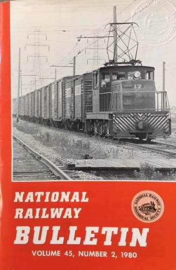 Image for National Railway Bulletin (Volume 45, Number 2 - 1980
