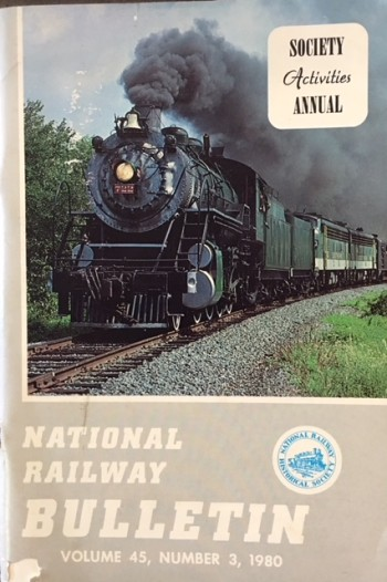 Image for National Railway Bulletin (Volume 45, Number 3 - 1980 (Society Activities Annual)