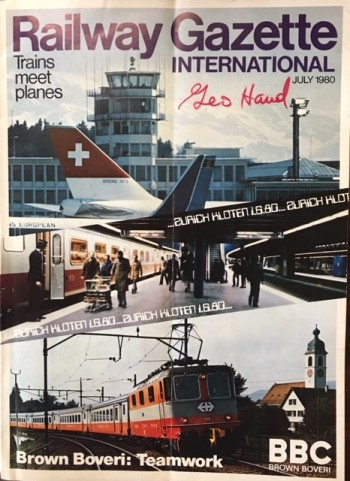 Image for Railway Gazette International (Volume 136, Number 7 - July 1980)