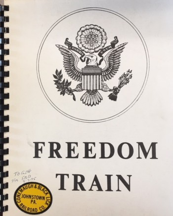 Image for American Freedom Train (Copy of the Proposal with pro-forma budget for the 'Freedom Train Bicentennial Journey - 1975/1976)