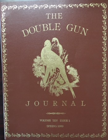 Image for THE DOUBLE GUN JOURNAL (Volume Ten / Issue 1, Spring 1999)