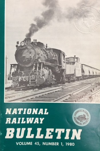 Image for National Railway Bulletin (Volume 45, Number 1 - 1980
