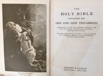 Image for The Holy Bible: Containing the Old and New Testaments Translated out of the Original Tongues and with the Former Translations Diligently Compared and Revised (King James Version)