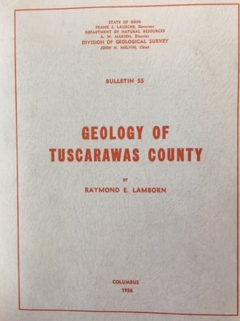 Image for Geology of Tuscarawas County (Bulletin 55)