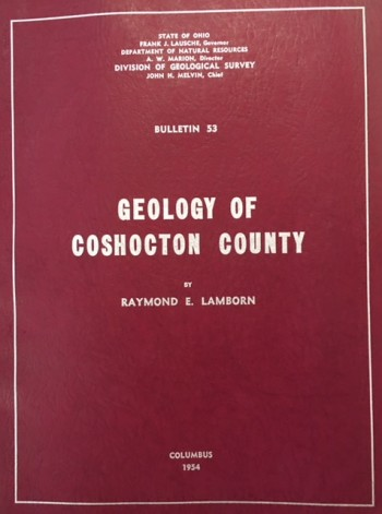 Image for Geology of Coshocton County (Bulletin 53)