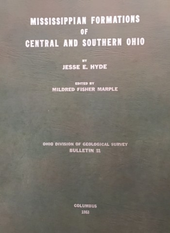 Image for The Mississippian Formations of Central and Southern Ohio (Bulletin 51)