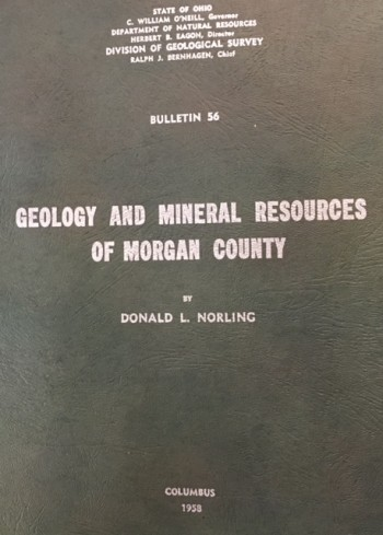 Image for Geology and Mineral Resources of Morgan County, Ohio (Bulletin 56)