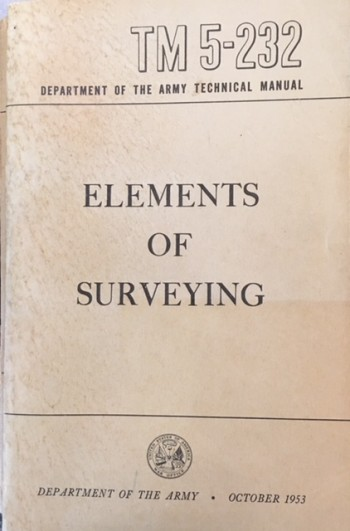 Image for Elements of Surveying Technical Manual  TM 5-232