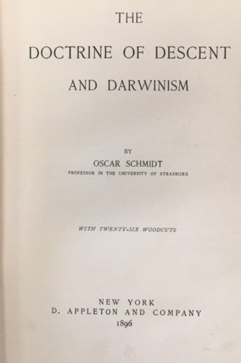Image for The Doctrine of Descent and Darwinism