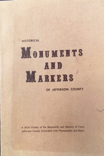 Image for Historical Monuments and Markers of Jefferson County, Ohio (Illustrated)