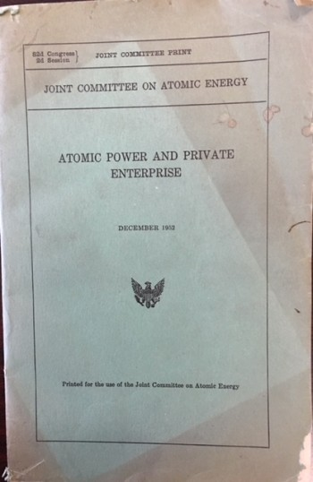 Image for Atomic Power and Private Enterprise, December 1952