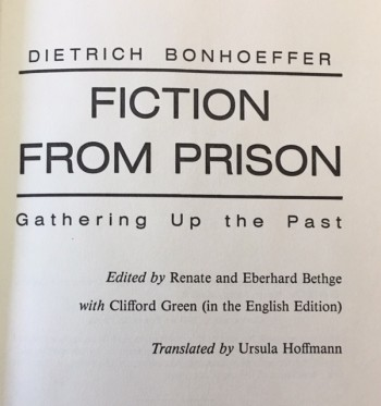 Image for Fiction from Prison Gathering Up the Past