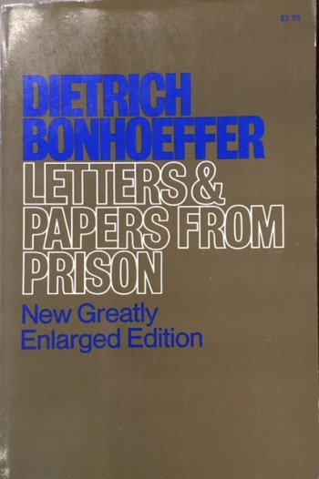 Image for Letters and Papers from Prison (The Enlarged Editon)