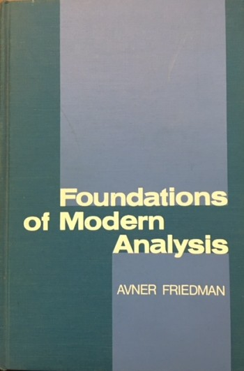 Image for Foundations of Modern Analysis