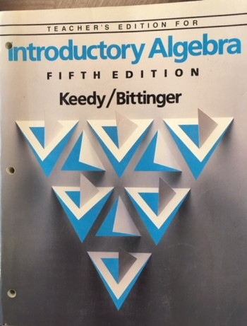 Image for Introductory Algebra - 5th Edition (Teacher's Edition)