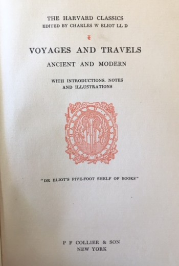 Image for Voyage and Travels Ancient and Modern (The Harvard Classics - Volume 33)