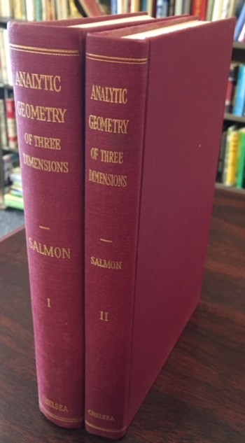 Image for A Treatise On the Analytic Geometry of Three Dimensions - 2 Volume Set