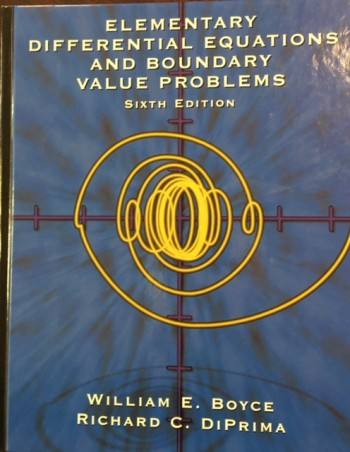Image for Elementary Differential Equations and Boundary Value Problems