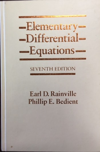 Image for Elementary Differential Equations - 7th Edition