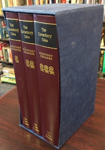 Image for The Canterbury Tales - Three Volume Set (In slip case)
