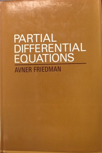 Image for Partial Differential Equations