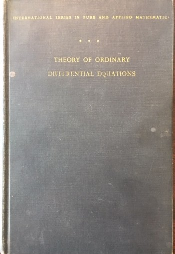 Image for Theory of Ordinary Differential Equations (International Series In Pure and Applied Mathematics)
