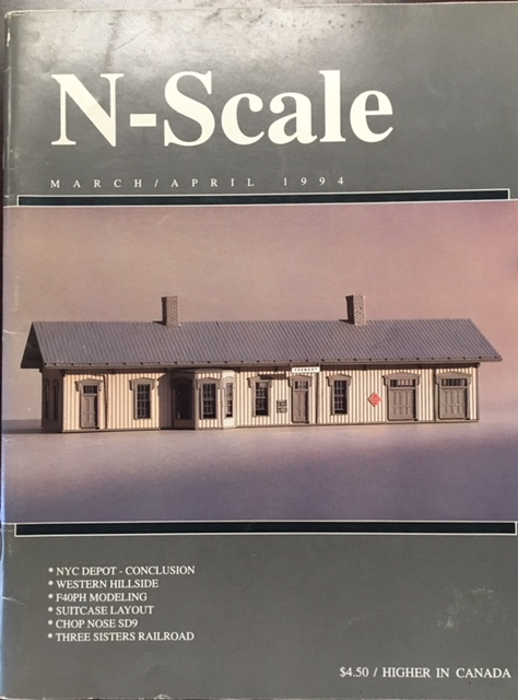 Image for N-Scale (Volume 6, Number 2 - March/April 1994)