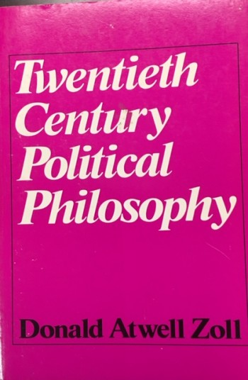 Image for Twentieth century political philosophy