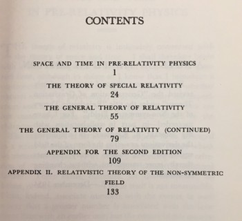 Image for The Meaning of Relativity: Fifth Edition, including the Relativistic Theory of the Non-symmetric Field (The Stafford Little lectures of Princeton University, May 1921)