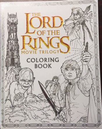 Image for The Lord of the Rings Movie Trilogy Coloring Book
