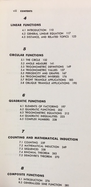 Image for Modern fundamentals of mathematics: By Henry Sharp;Jr