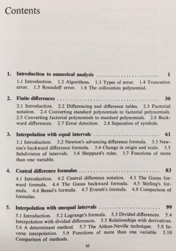 Fundamentals of numerical analysis