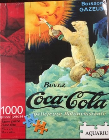 Image for Coca Cola Bear Jigsaw Puzzle, 1000-Piece