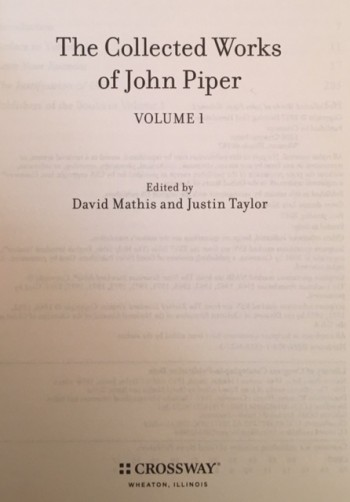 Image for The Collected Works of John Piper (13 Volume Set Plus Index)