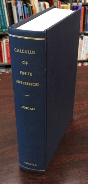 Image for Calculus of Finite Differences - 3rd Edition
