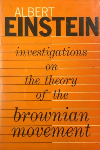 Image for Investigations on the Theory of the Brownian Movement